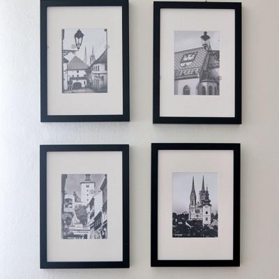 Četiri fotografije Zagreba