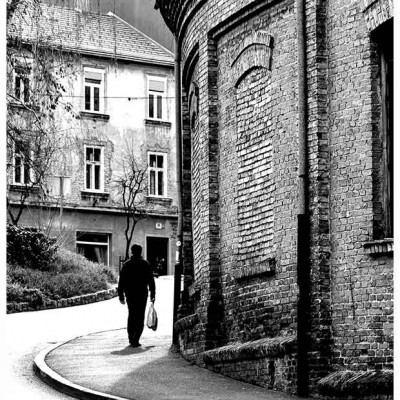 FOTOGRAFIJE ZAGREBA - MALA ULICA
