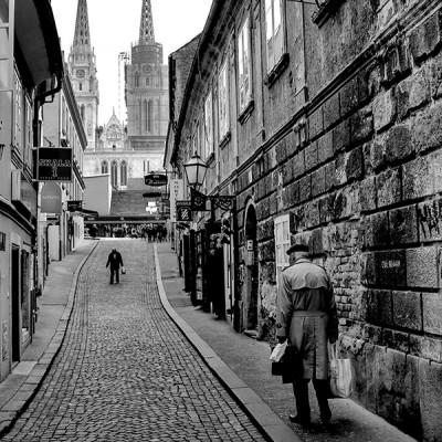 FOTOGRAFIJE ZAGREBA - SKALINSKA ULICA