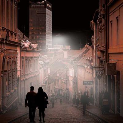 Zagreb digital art - Radićeva ulica